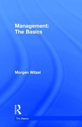 Management: The Basics - The Basics (Hardback)