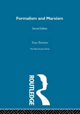 Formalism and Marxism - New Accents (Hardback)