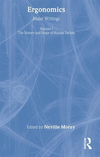 Ergonomics Mw Vol 1: Hist&Scop (Hardback)