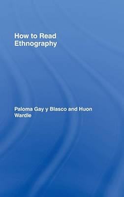 How to Read Ethnography (Hardback)