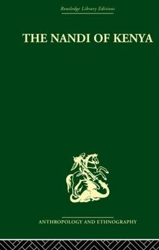 The Nandi of Kenya (Hardback)