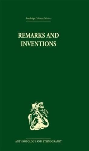 Remarks and Inventions: Skeptical Essays about Kinship (Hardback)