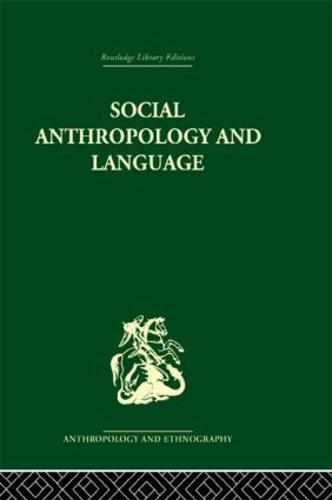 Social Anthropology and Language (Hardback)