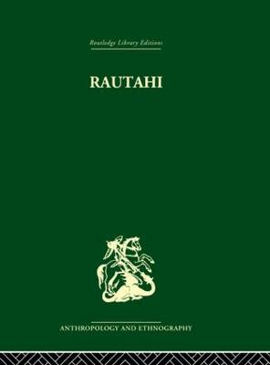 Rautahi: The Maoris of New Zealand (Hardback)