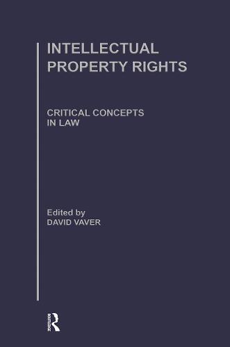 Intellectual Property Rights (Hardback)
