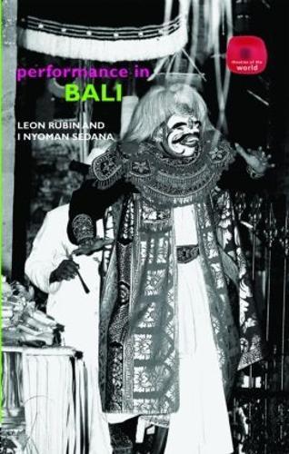 Performance in Bali (Hardback)