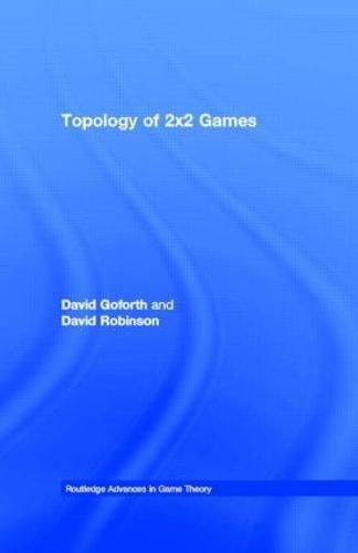 Topology of 2x2 Games (Hardback)