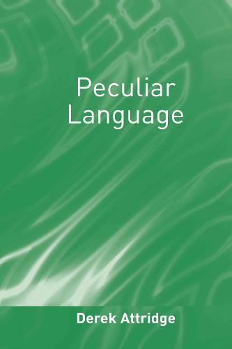 Peculiar Language (Hardback)
