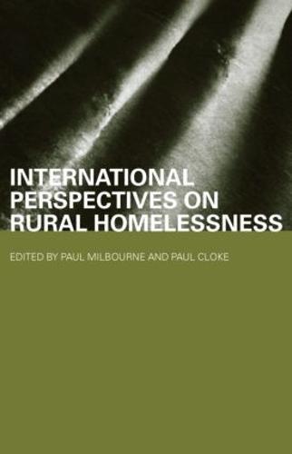 International Perspectives on Rural Homelessness - Housing, Planning and Design Series (Hardback)