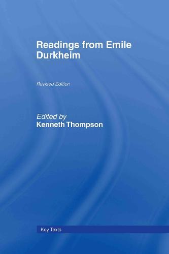 Readings from Emile Durkheim (Hardback)