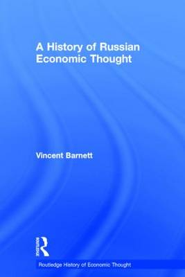 A History of Russian Economic Thought (Hardback)