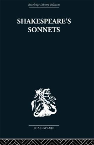 Shakespeare's Sonnets (Hardback)