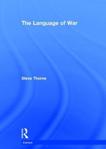 The Language of War - Intertext (Hardback)