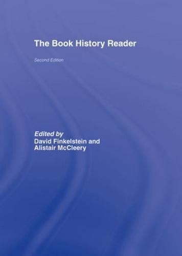 The Book History Reader (Hardback)