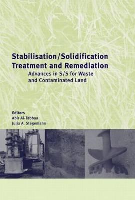 Stabilisation/Solidification Treatm (Hardback)