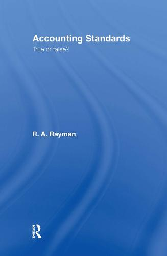 Accounting Standards: True or False? (Hardback)