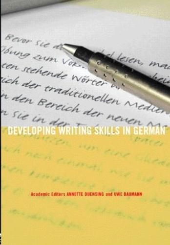 Developing Writing Skills in German - Developing Writing Skills (Paperback)