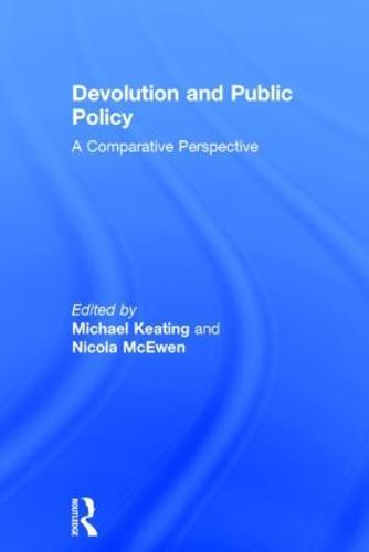 Devolution and Public Policy (Hardback)