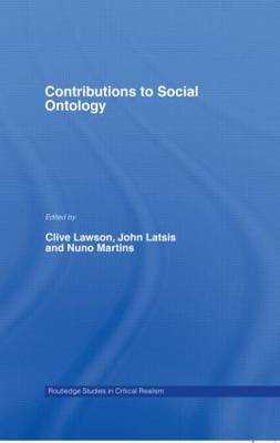 Contributions to Social Ontology (Hardback)