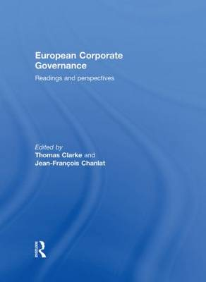 European Corporate Governance: Readings and Perspectives (Hardback)