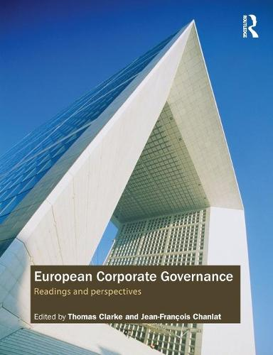 European Corporate Governance: Readings and Perspectives (Paperback)