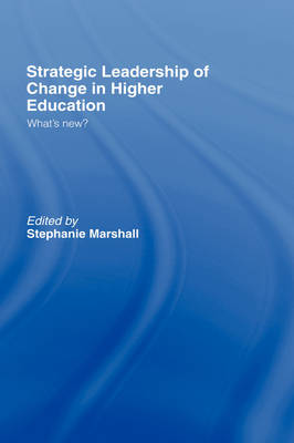 change in higher education