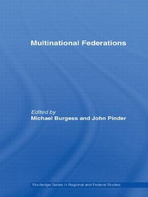 Multinational Federations - Routledge Studies in Federalism and Decentralization (Hardback)