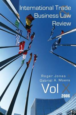 International Trade and Business Law Review: Volume X (Paperback)