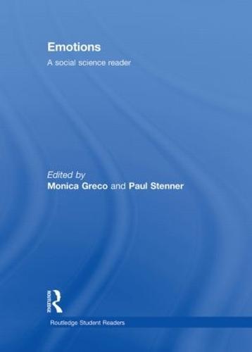 Emotions: A Social Science Reader - Routledge Student Readers (Hardback)