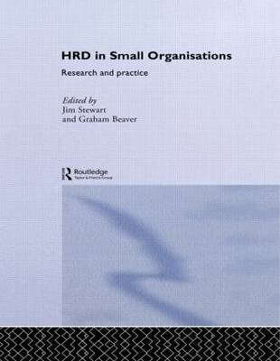 Human Resource Development in Small Organisations: Research and Practice - Routledge Studies in Human Resource Development (Paperback)