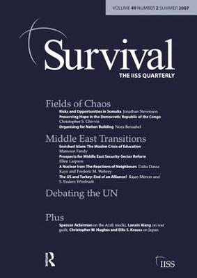 Survival 49.2: Survival 49.2 Summer 2007 (Paperback)