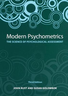 Modern Psychometrics, Third Edition: The Science of Psychological Assessment (Paperback)