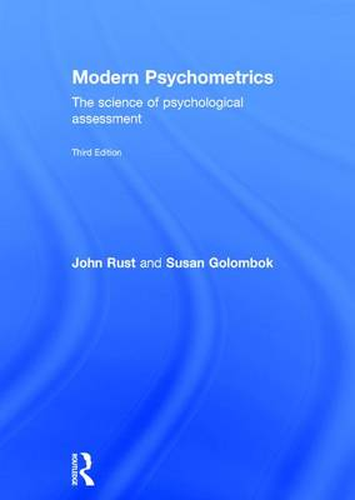 Modern Psychometrics, Third Edition: The Science of Psychological Assessment (Hardback)