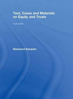 Text, Cases and Materials on Equity and Trusts (Hardback)