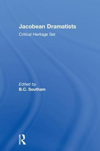 Jacobean Dramatists: Critical Heritage Set (Hardback)