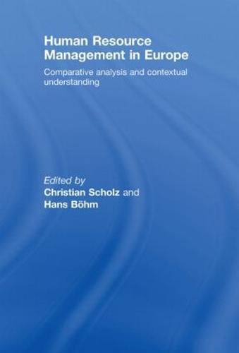 Human Resource Management in Europe (Hardback)