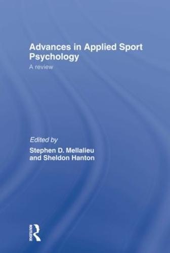 Advances in Applied Sport Psychology: A Review (Hardback)