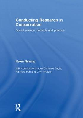 Conducting Research in Conservation: Social Science Methods and Practice (Hardback)