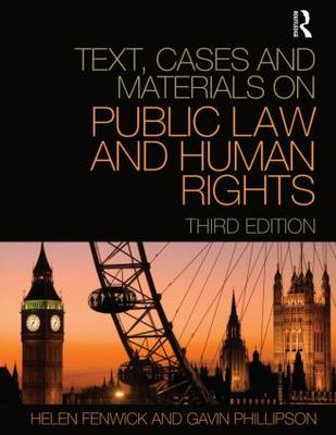 Text, Cases and Materials on Public Law and Human Rights (Paperback)