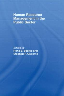 Human Resource Management in the Public Sector (Paperback)
