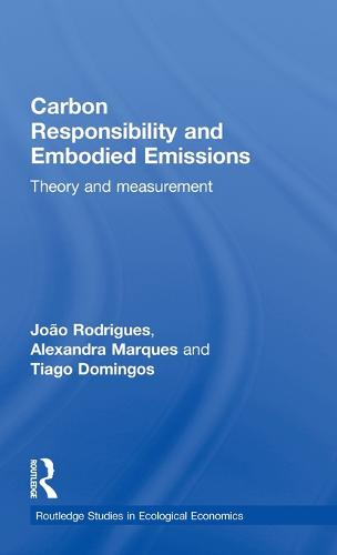 Carbon Responsibility and Embodied Emissions: Theory and Measurement (Hardback)