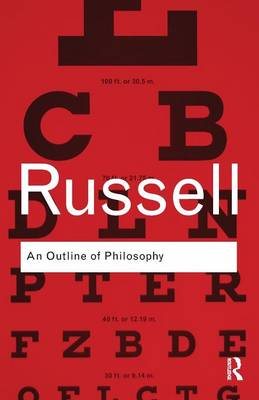 An Outline of Philosophy - Routledge Classics (Paperback)