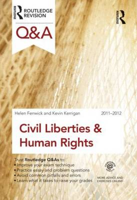 Q&A Civil Liberties and Human Rights 2011-2012 - Questions and Answers (Paperback)