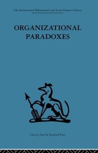 Organizational Paradoxes (Paperback)