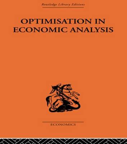 Optimisation in Economic Analysis (Paperback)