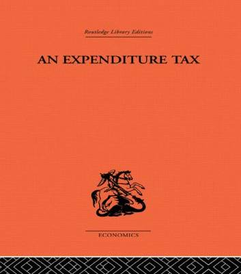 Expenditure Tax (Paperback)