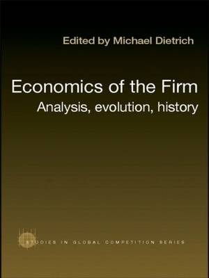 Economics of the Firm: Analysis, Evolution and History (Paperback)