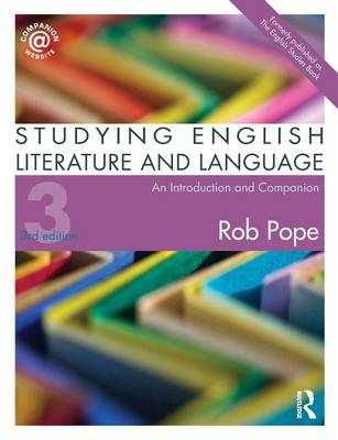 Studying English Literature and Language: An Introduction and Companion (Paperback)