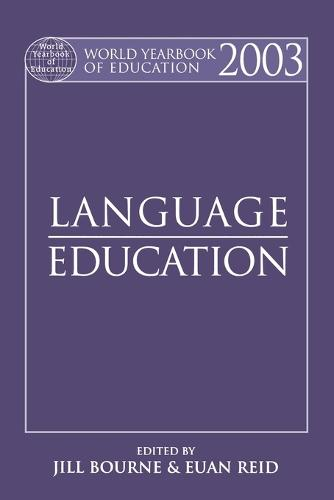 World Yearbook of Education 2003: Language Education (Paperback)