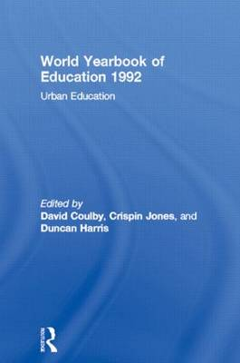 World Yearbook of Education 1992: Urban Education (Paperback)